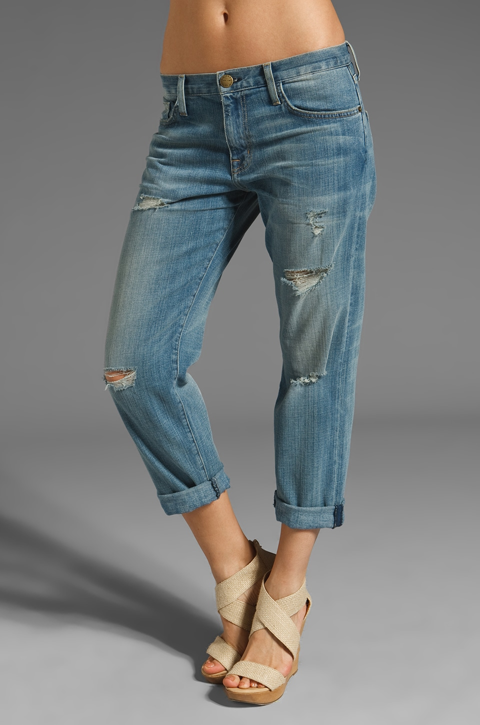 Current/Elliott Boyfriend Jean in Super Love Dest