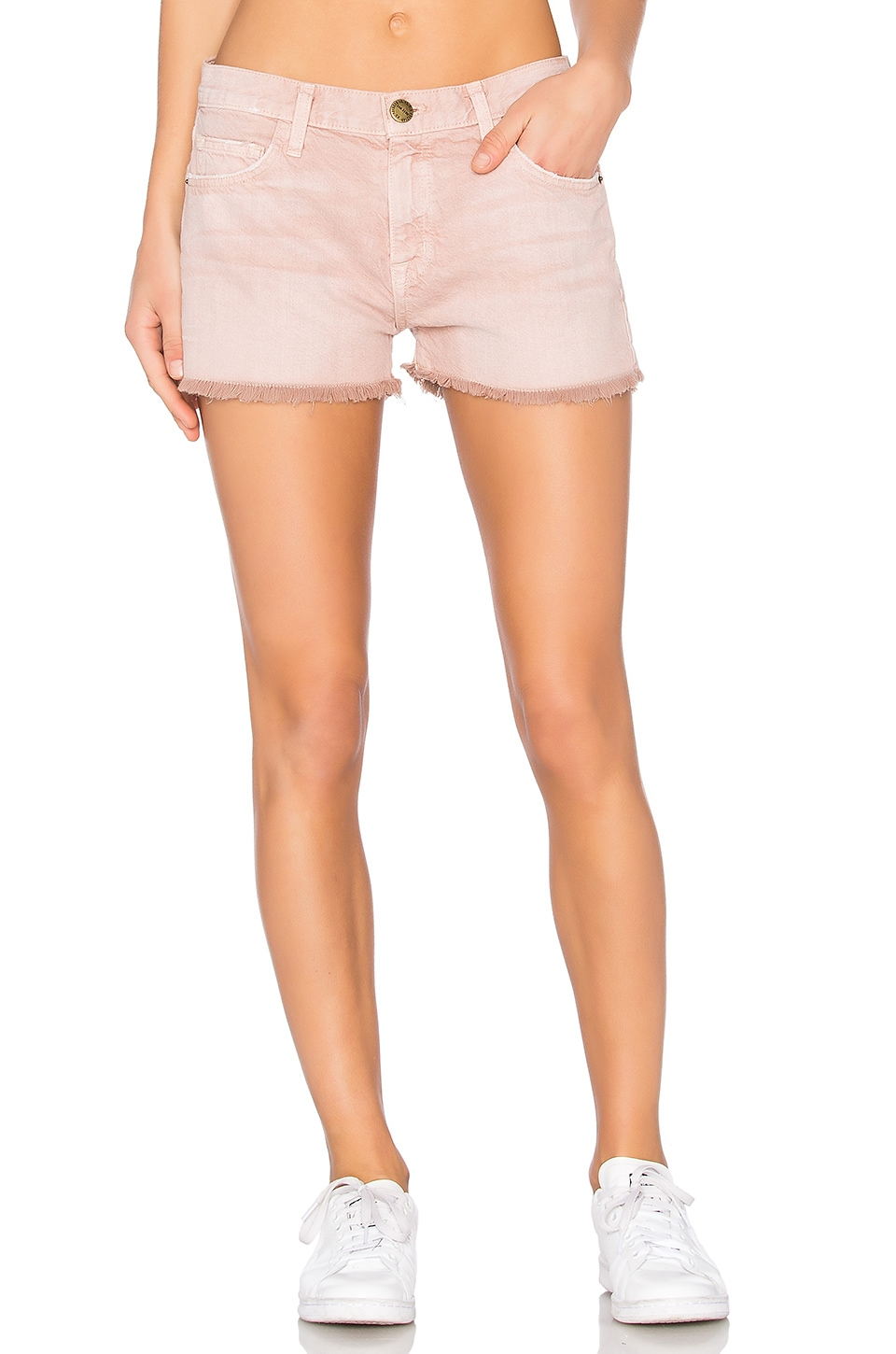 Current/Elliott The Boyfriend Short in Rose Dust