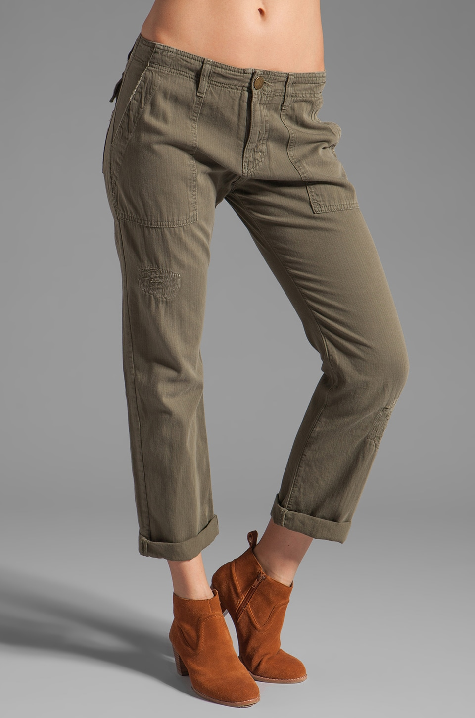 Current/Elliott The Army Pant in Army Repair