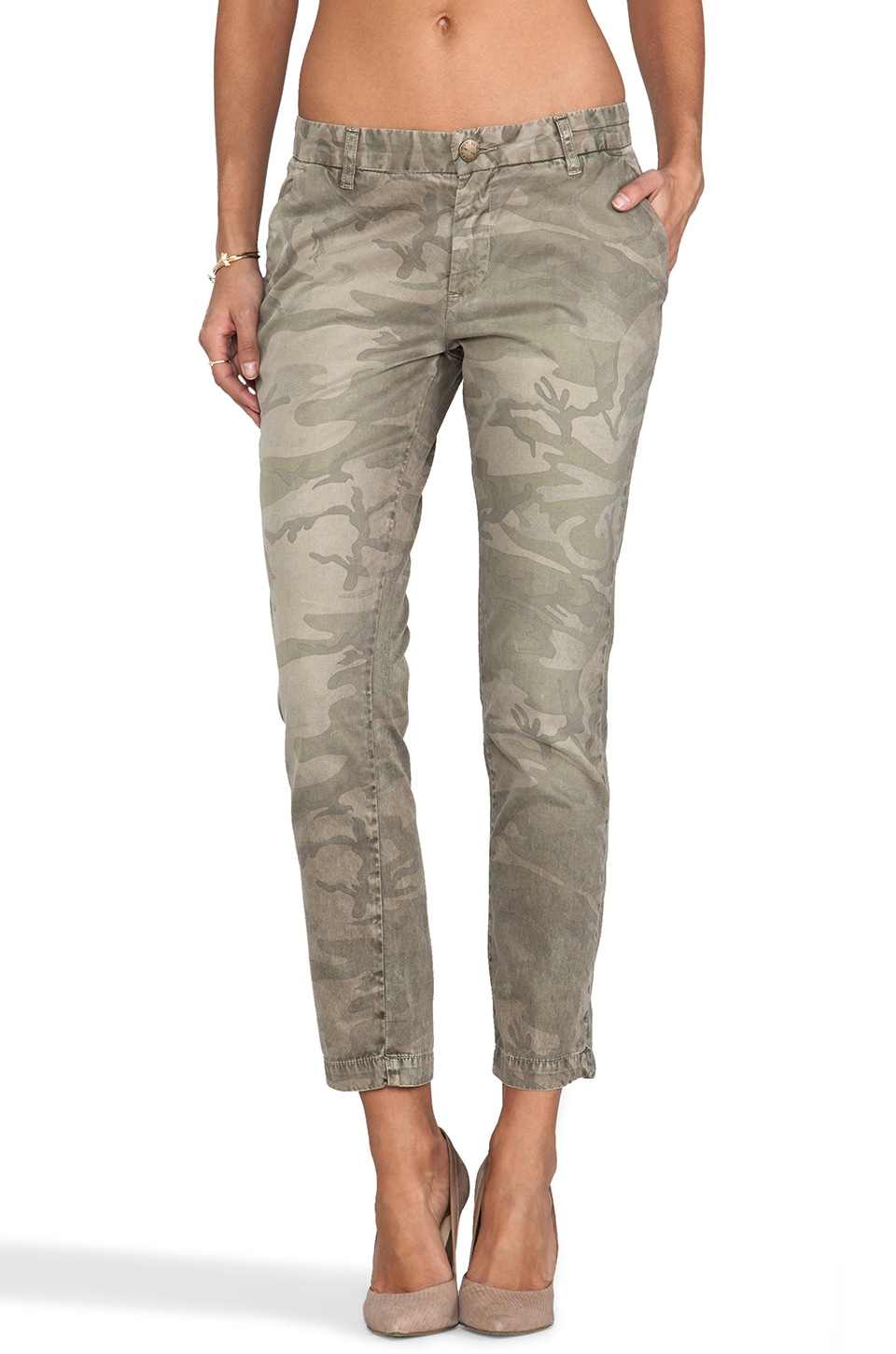 Current/Elliott The Buddy Trouser in Army Camo