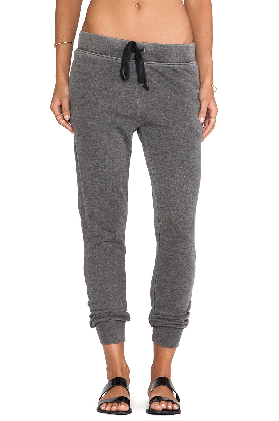 Current/Elliott The Vintage Sweatpant in Fade to Black
