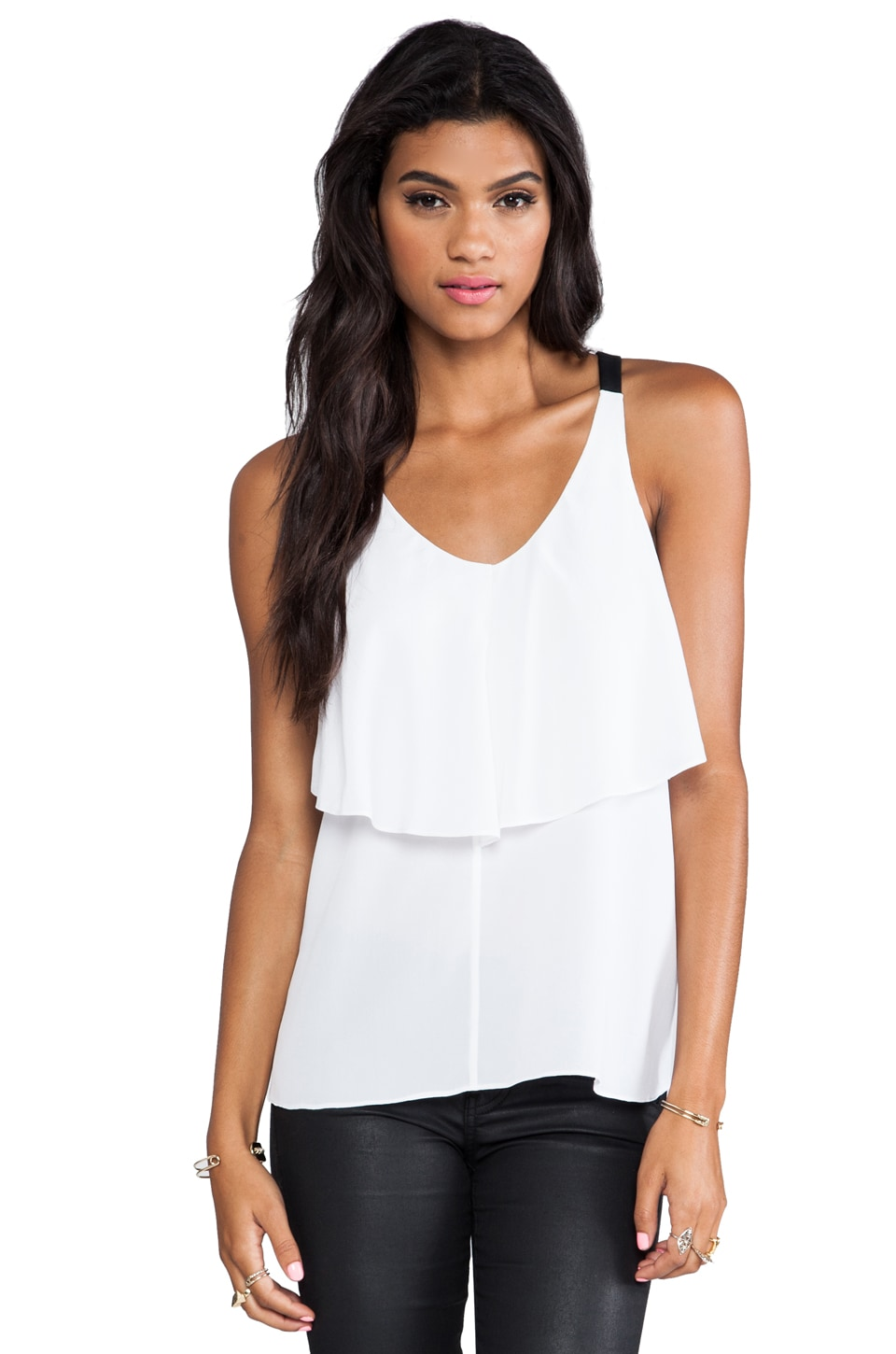 Cut25 by Yigal Azrouel Two Layer Tank in Optic