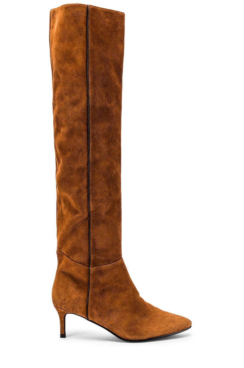 Caverley Jazzy Boot in Chestnut Suede