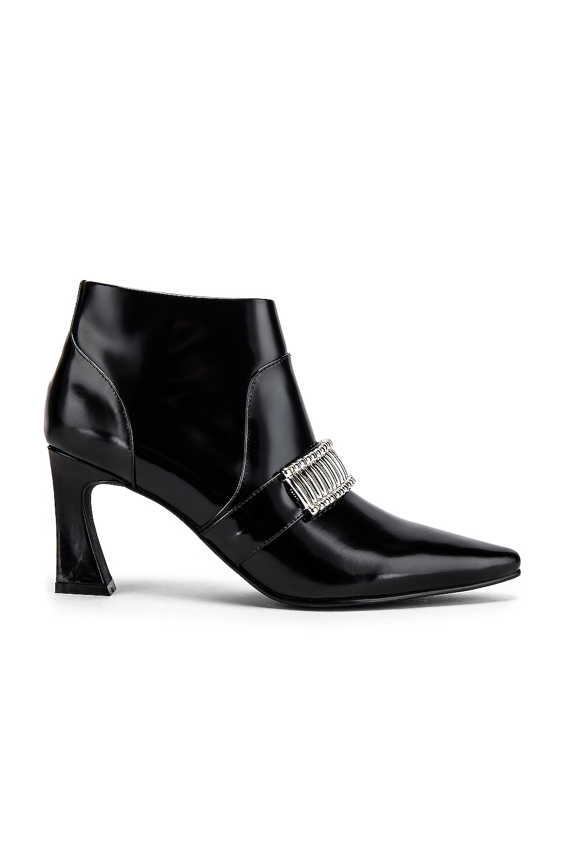 Caverley Turner Boot in Black Gloss