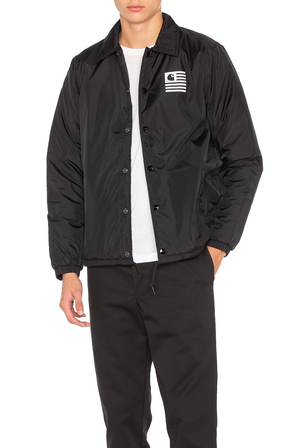 first look top brands another chance State Pile Coach Jacket