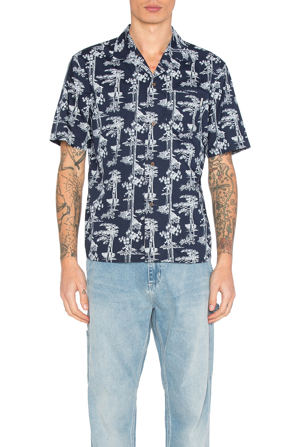 Pine Hawaii Button Down by Carhartt WIP