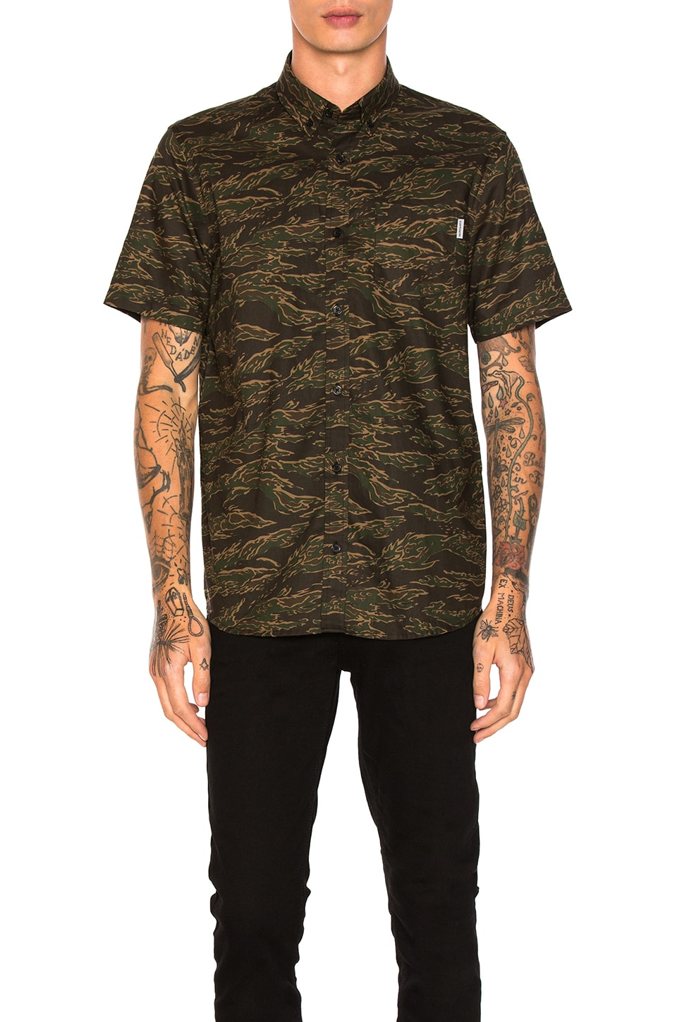 Camo Tiger Button Down by Carhartt WIP