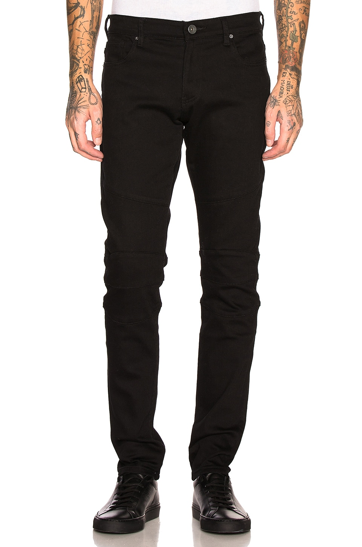 Crysp Denim Barias Jean in Black