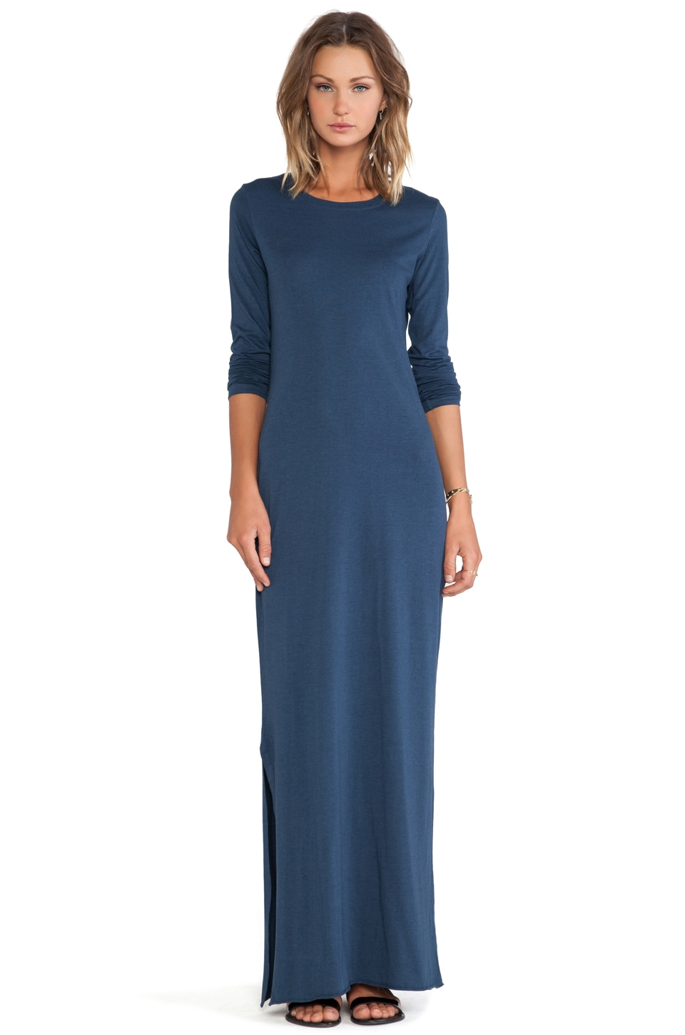Daftbird Crew Maxi Dress in Lake