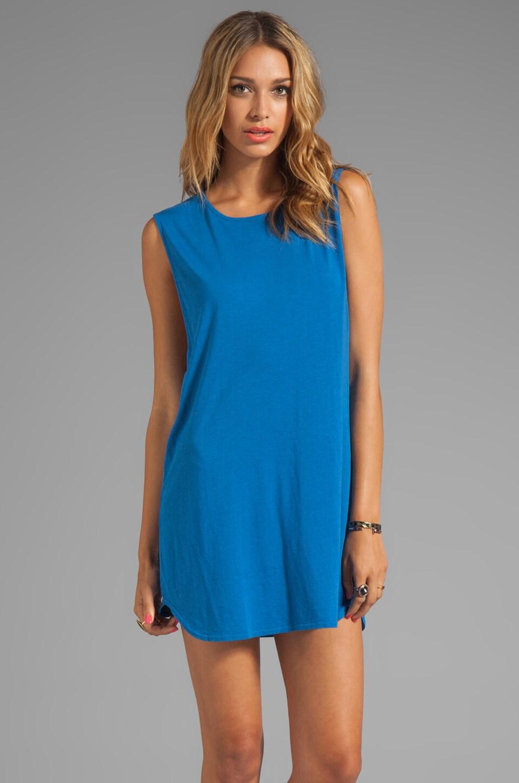 Daftbird Throw Dress in Bluebird