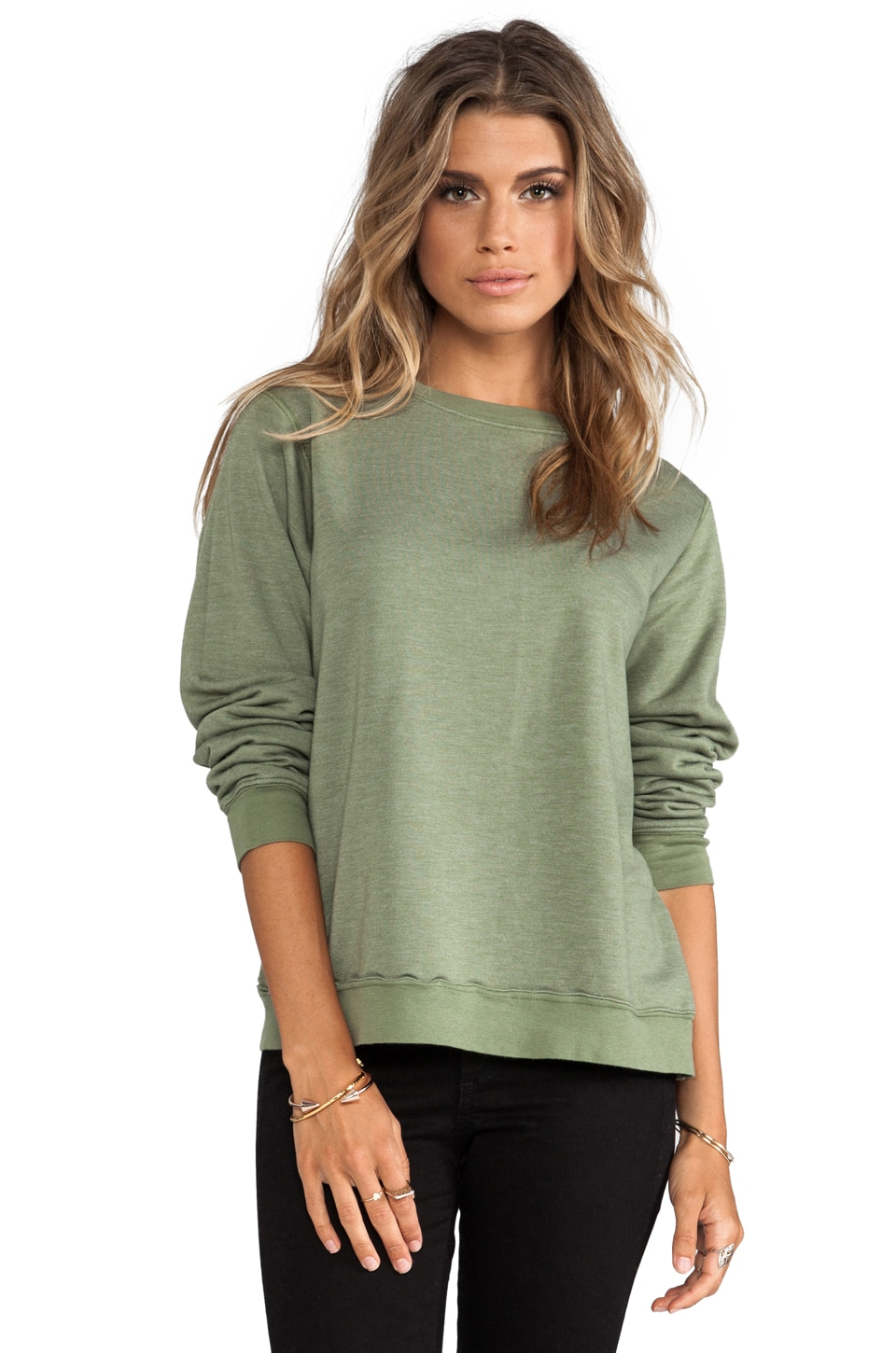 Daftbird Sweatshirt in Sage