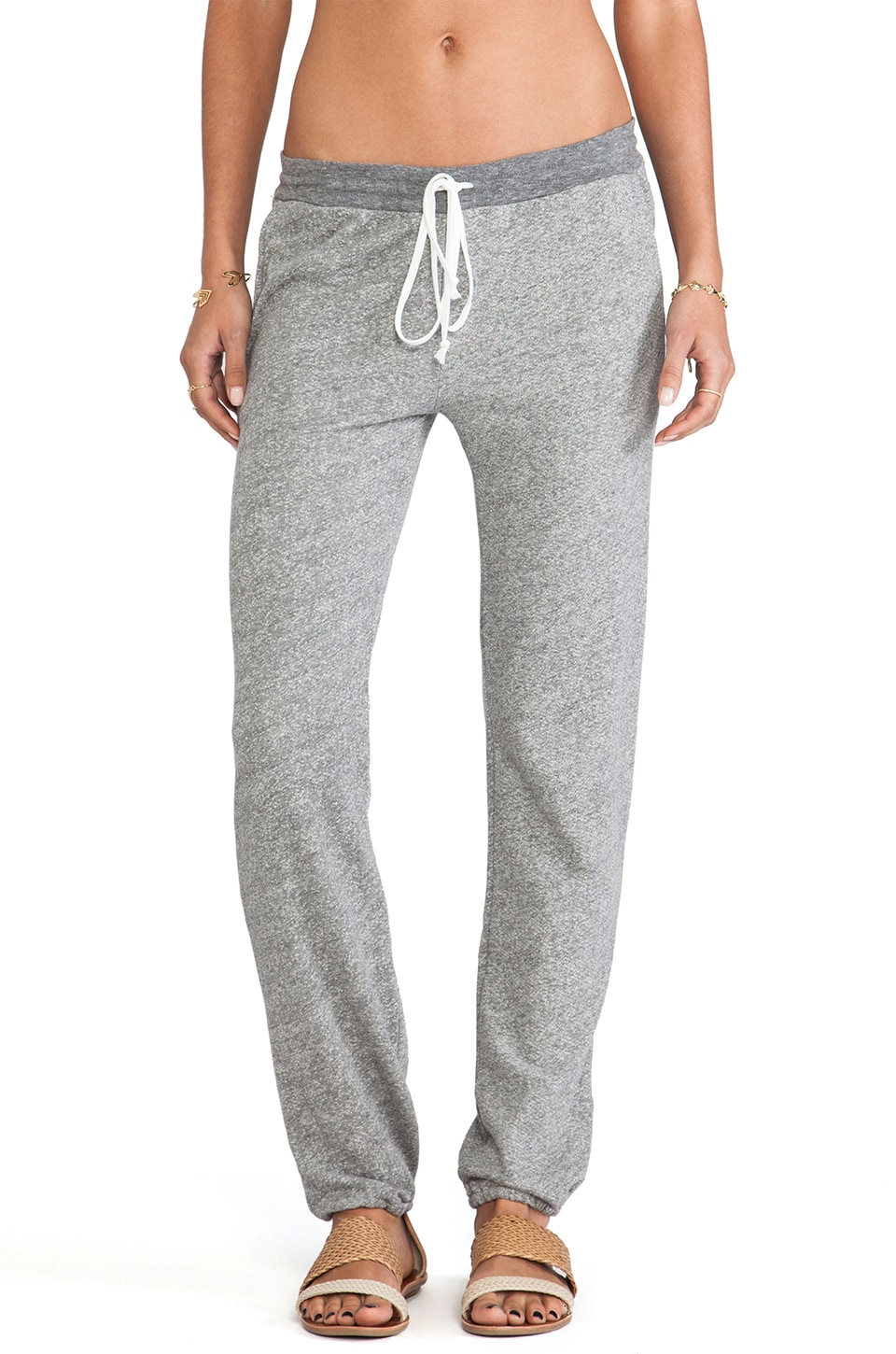 Daftbird Sweatpants in Heather Grey