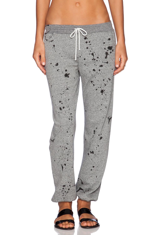 Daftbird P.E. Fleece Sweatpants in Heather Grey Vintage