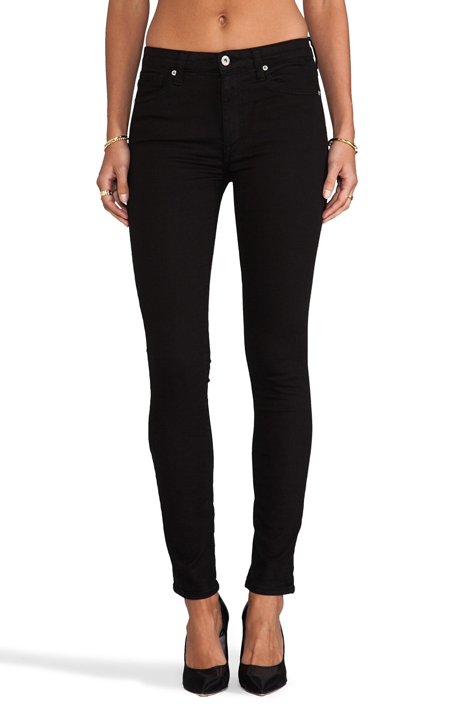 Dakota Collective Khloe Skinny in Black
