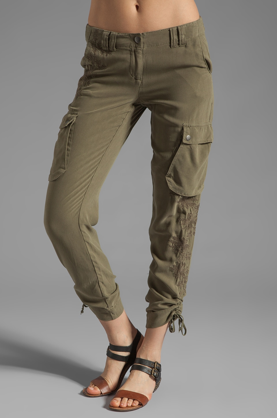 Da-Nang Cargo Pocket Pant in Fern