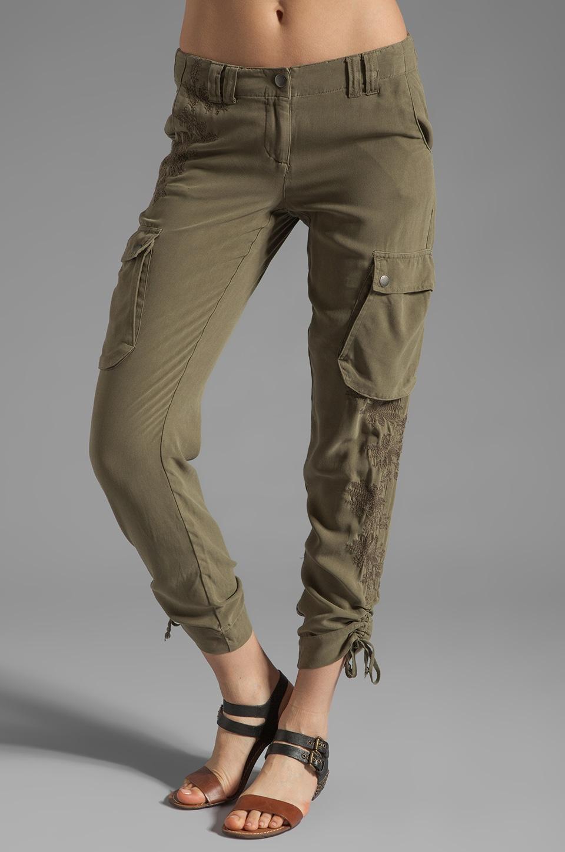 Da-Nang Cargo Pocket Pant in Fern