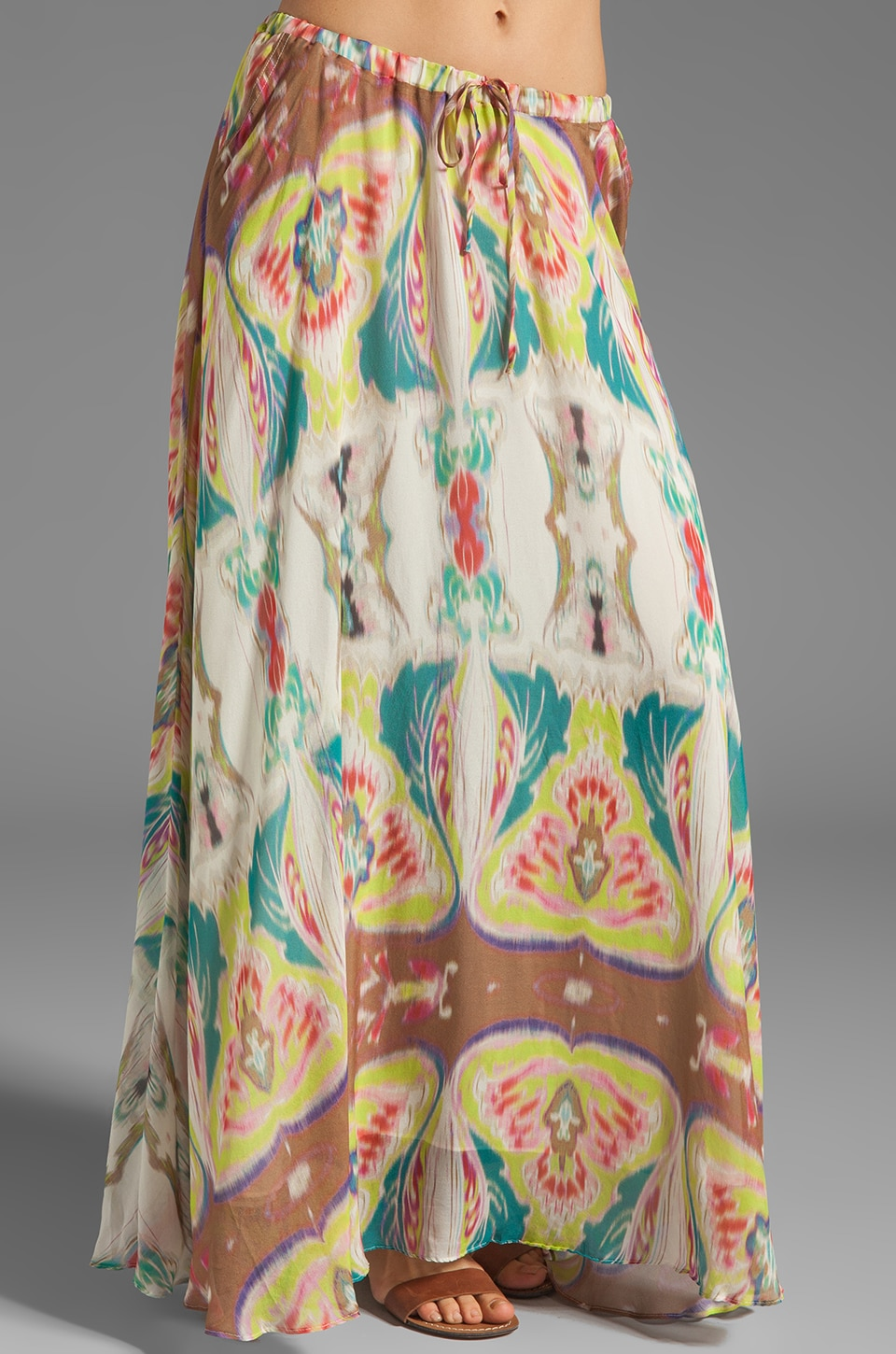 Da-Nang Drawstring Skirt in Kaleidoscope