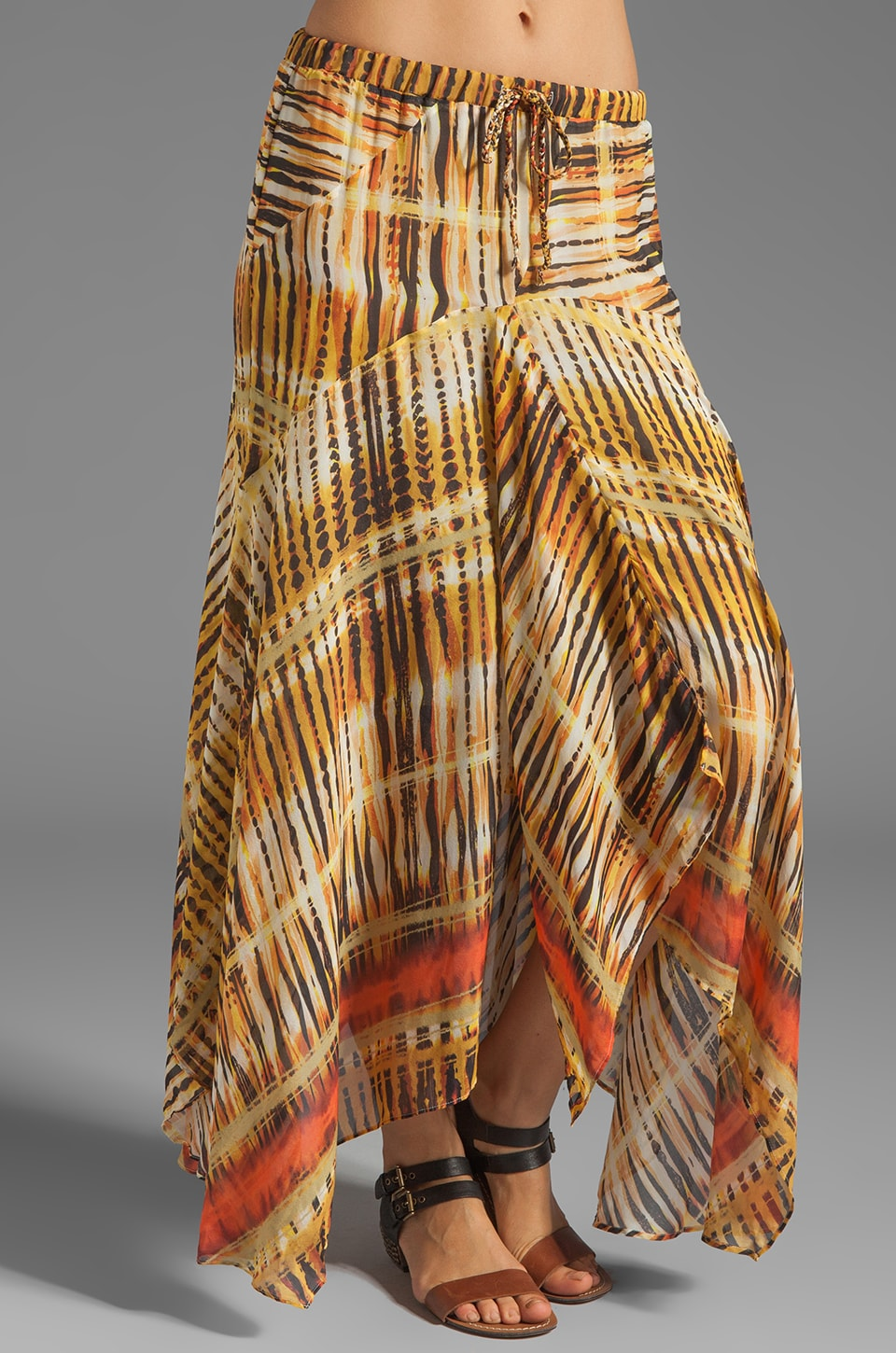 Da-Nang Patchwork Skirt in Masai