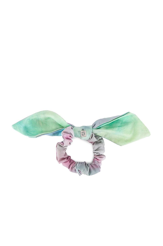 DANNIJO Janis Scrunchie в цвете Blue Tie Dye