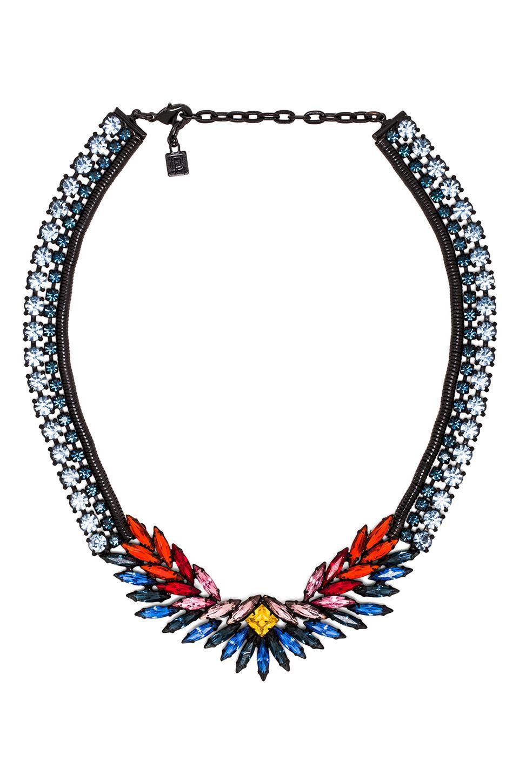 DANNIJO Rivington Necklace in Sapphire