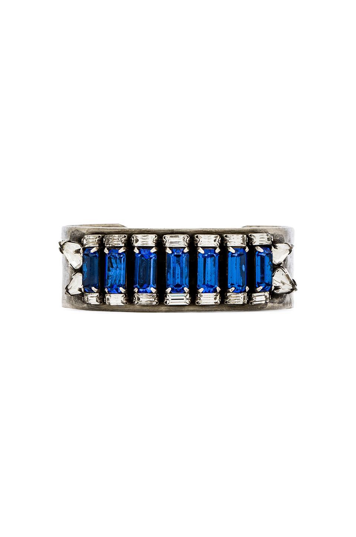 DANNIJO Meadows Bracelet in Silver & Sapphire