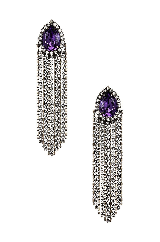 DANNIJO Zaya Earring in Silver