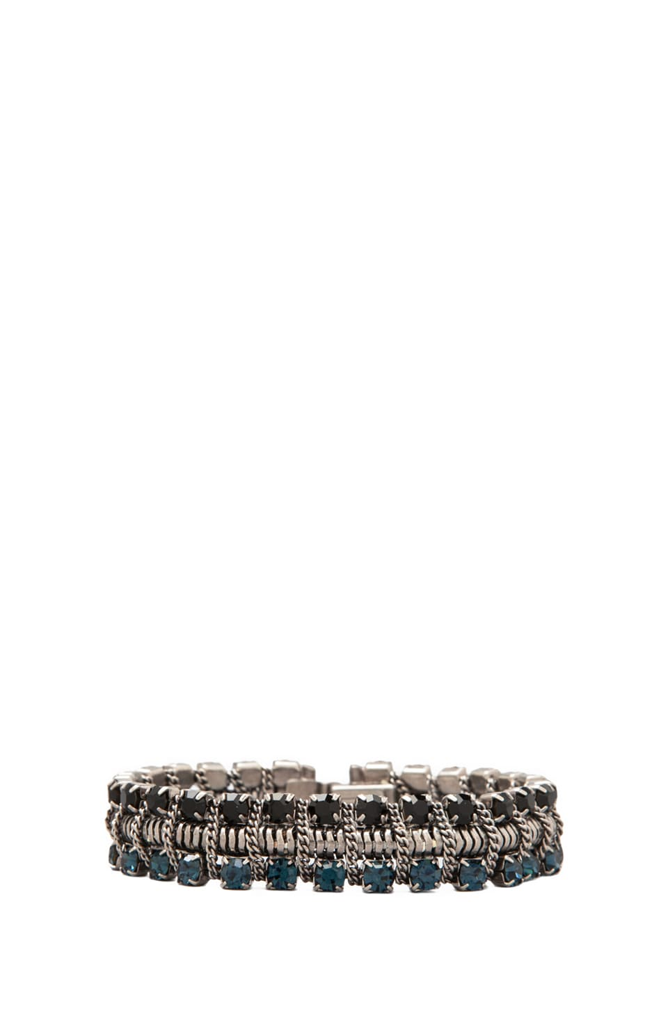 DANNIJO Giulia Bracelet in Black/Blue