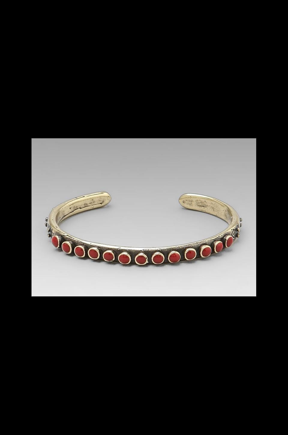 Dream Collective Snake Eyes Cuff in Poppy Red