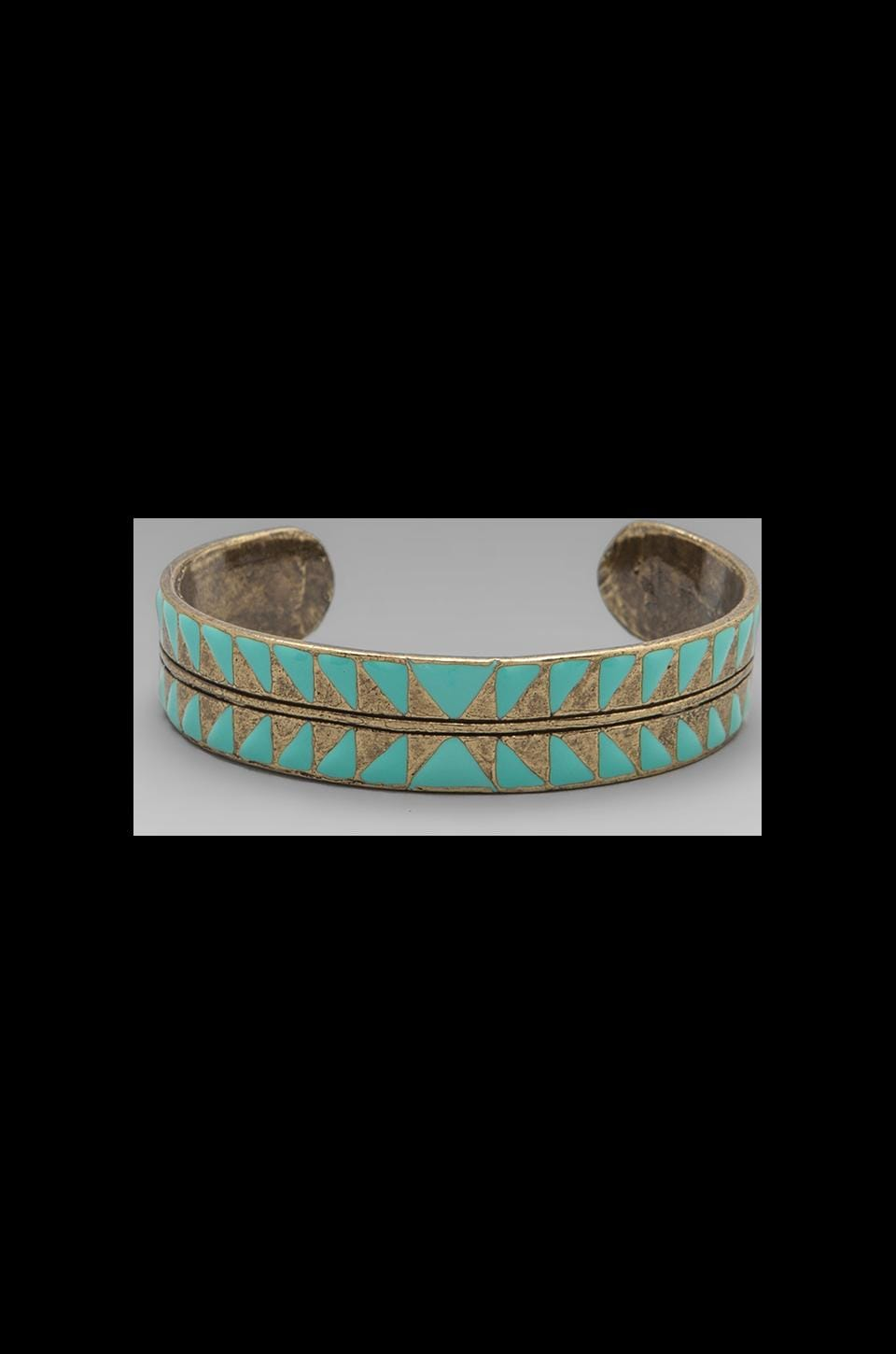 Dream Collective Eye Dazzler Cuff in Turquoise
