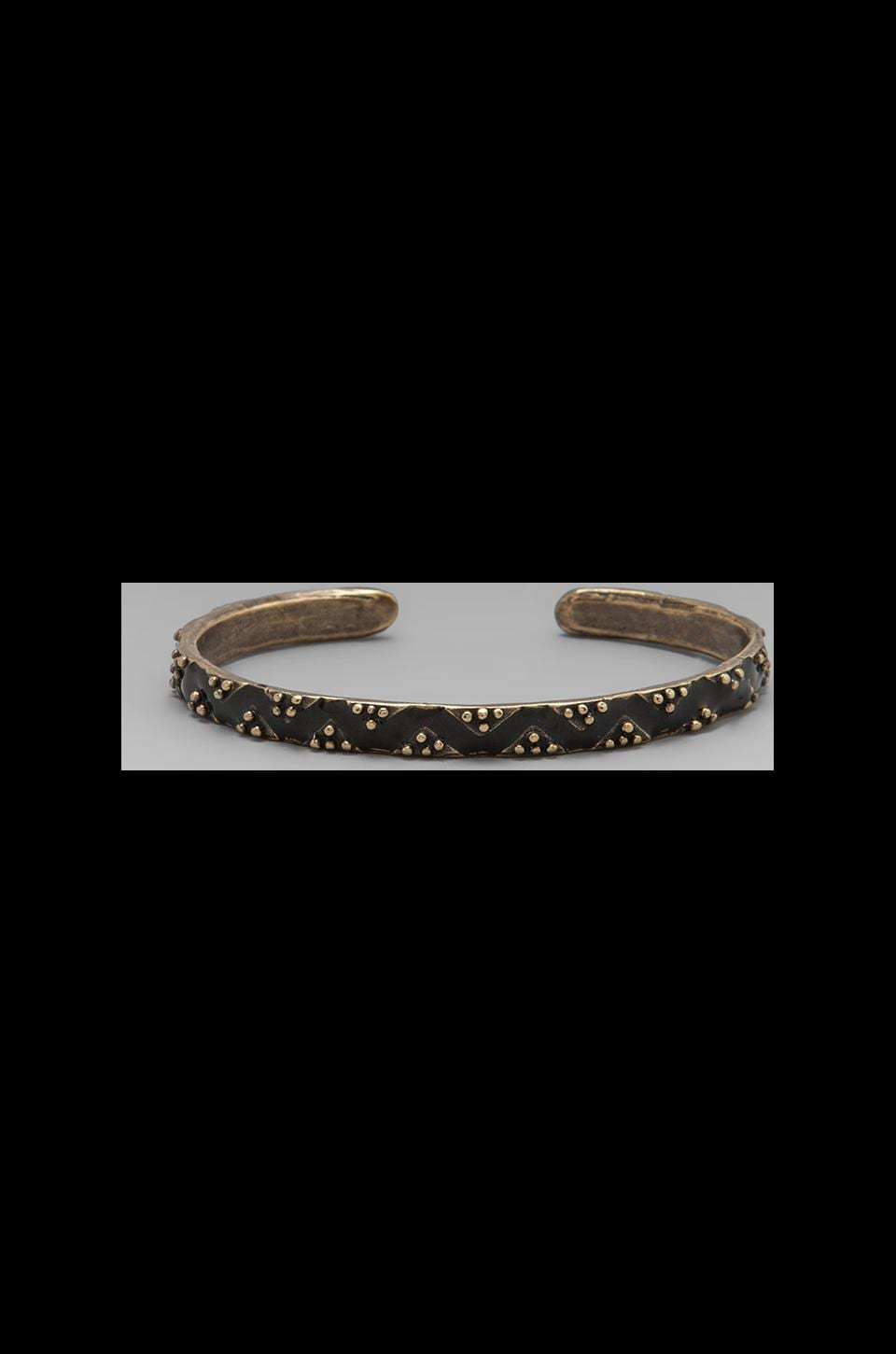 Dream Collective Diamond River Cuff in Black
