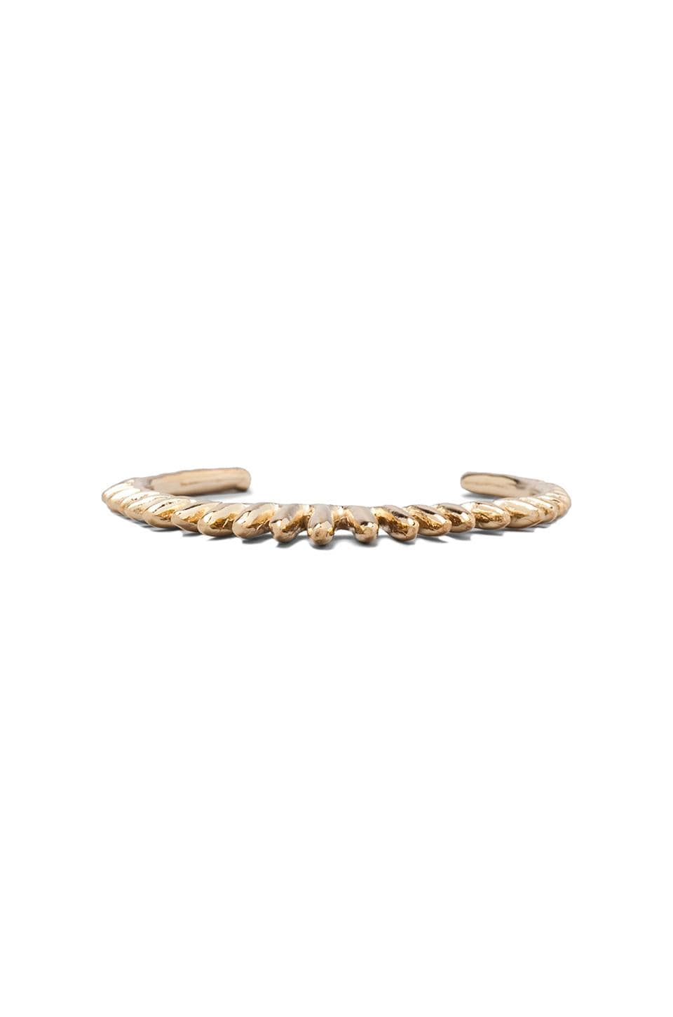 Dream Collective Rising Sun Cuff in Gold Plated