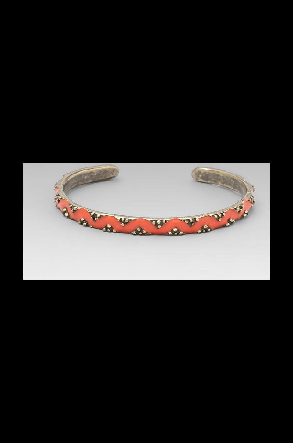 Dream Collective Diamond River Cuff in Poppy Red