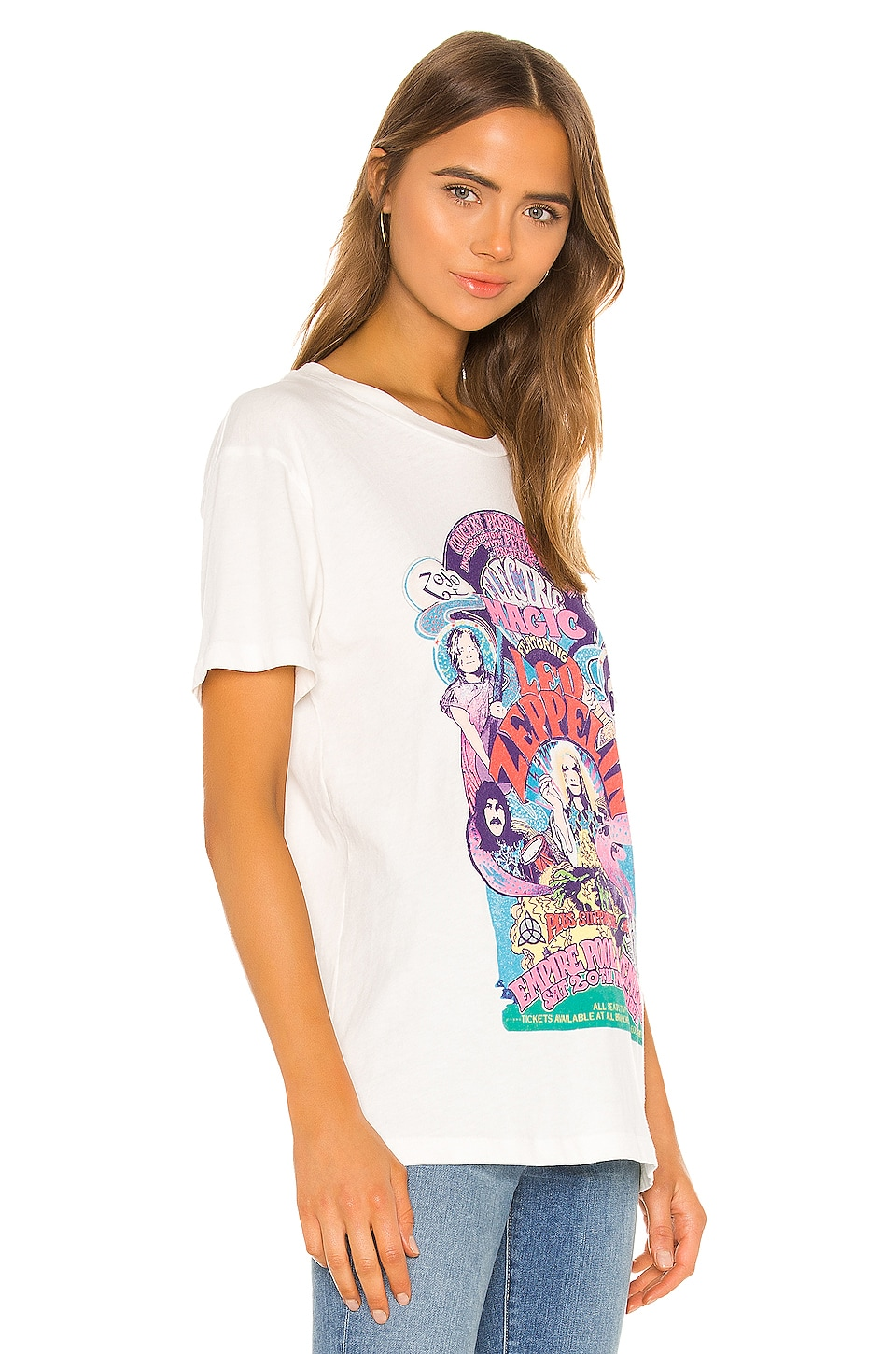 Led Zeppelin Electric Magic Weekend Tee, view 3, click to view large image.