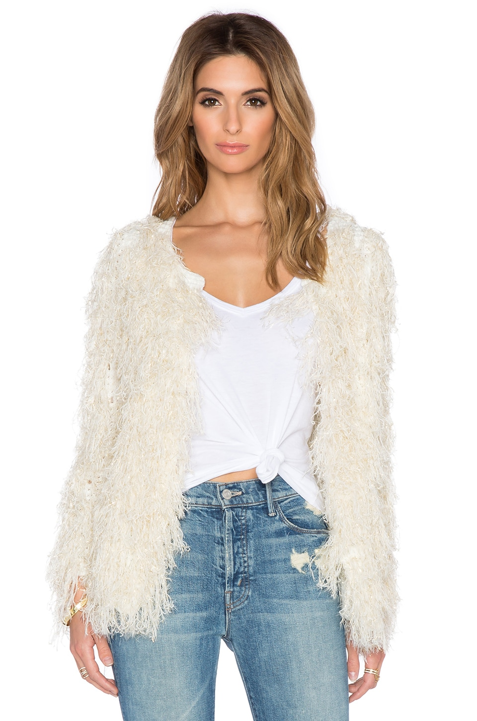 Mandy Faux Fur Jacket