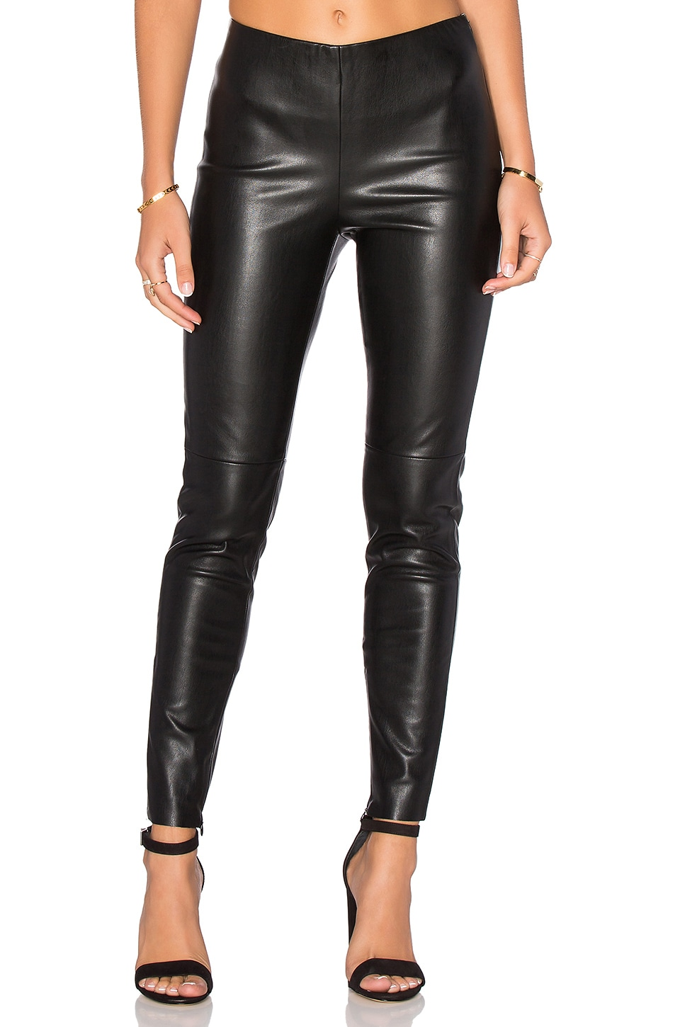 Karen Faux Leather Pant by Deby Debo
