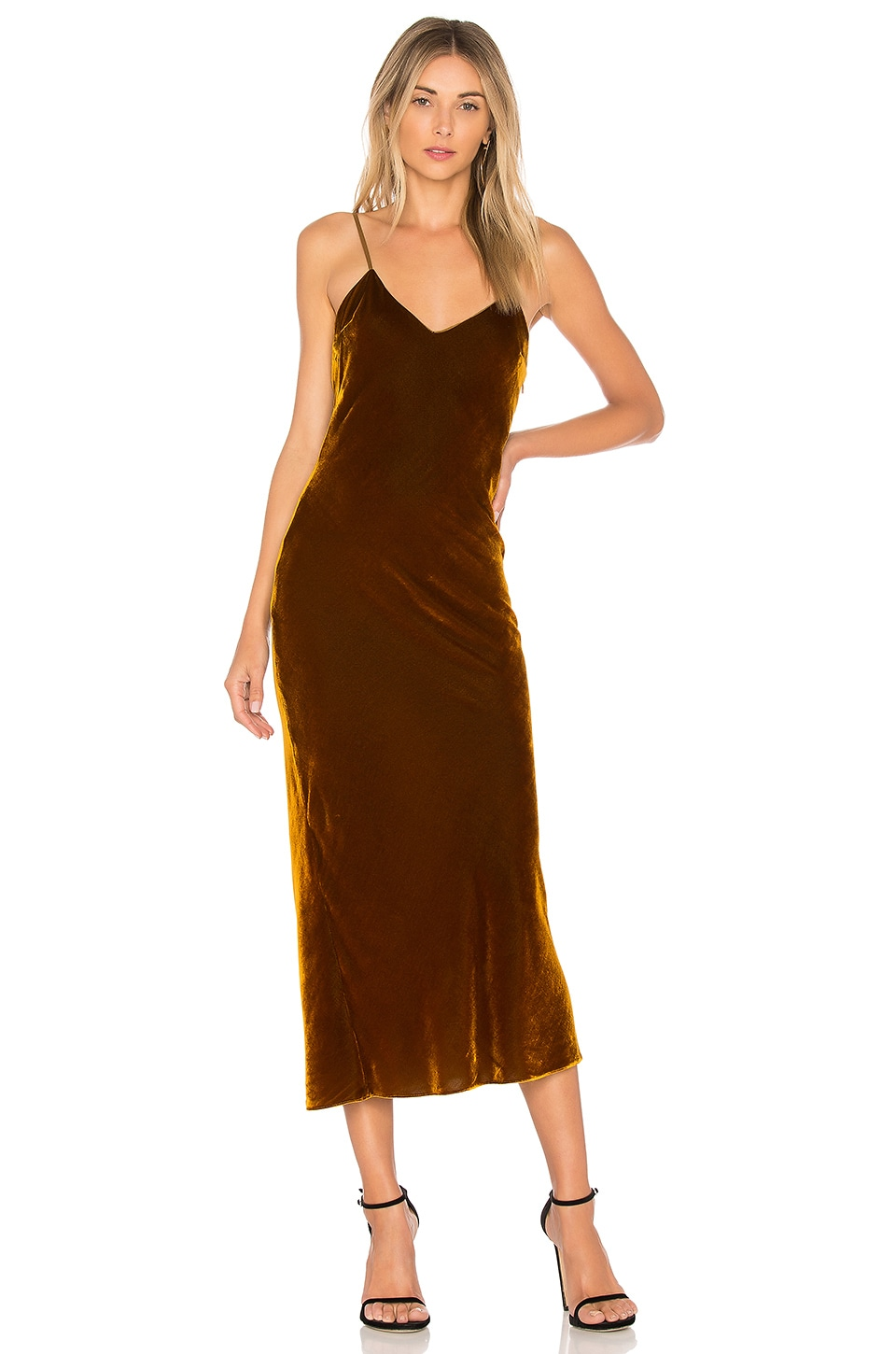 DE LA VALI Cobain Dress in Spice