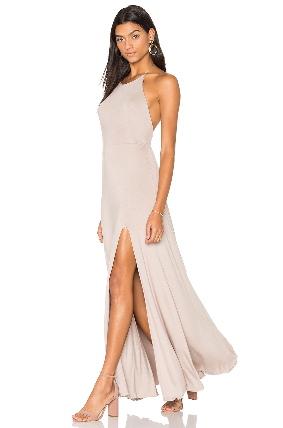 De Lacy Nikki Dress in Taupe