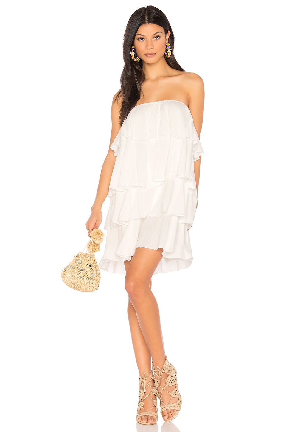 De Lacy Rio Dress in White