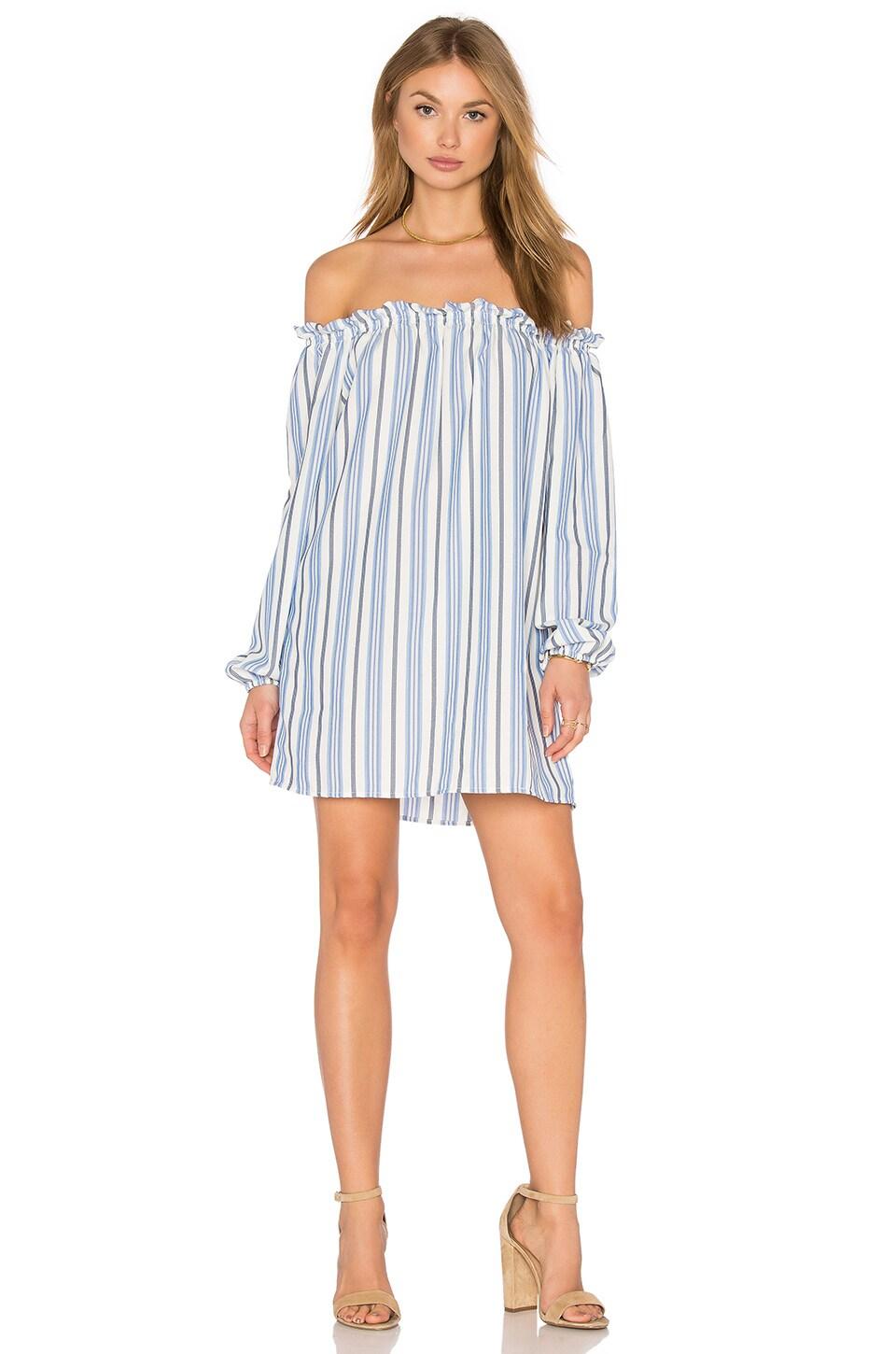 De Lacy Ella Dress in Stripe