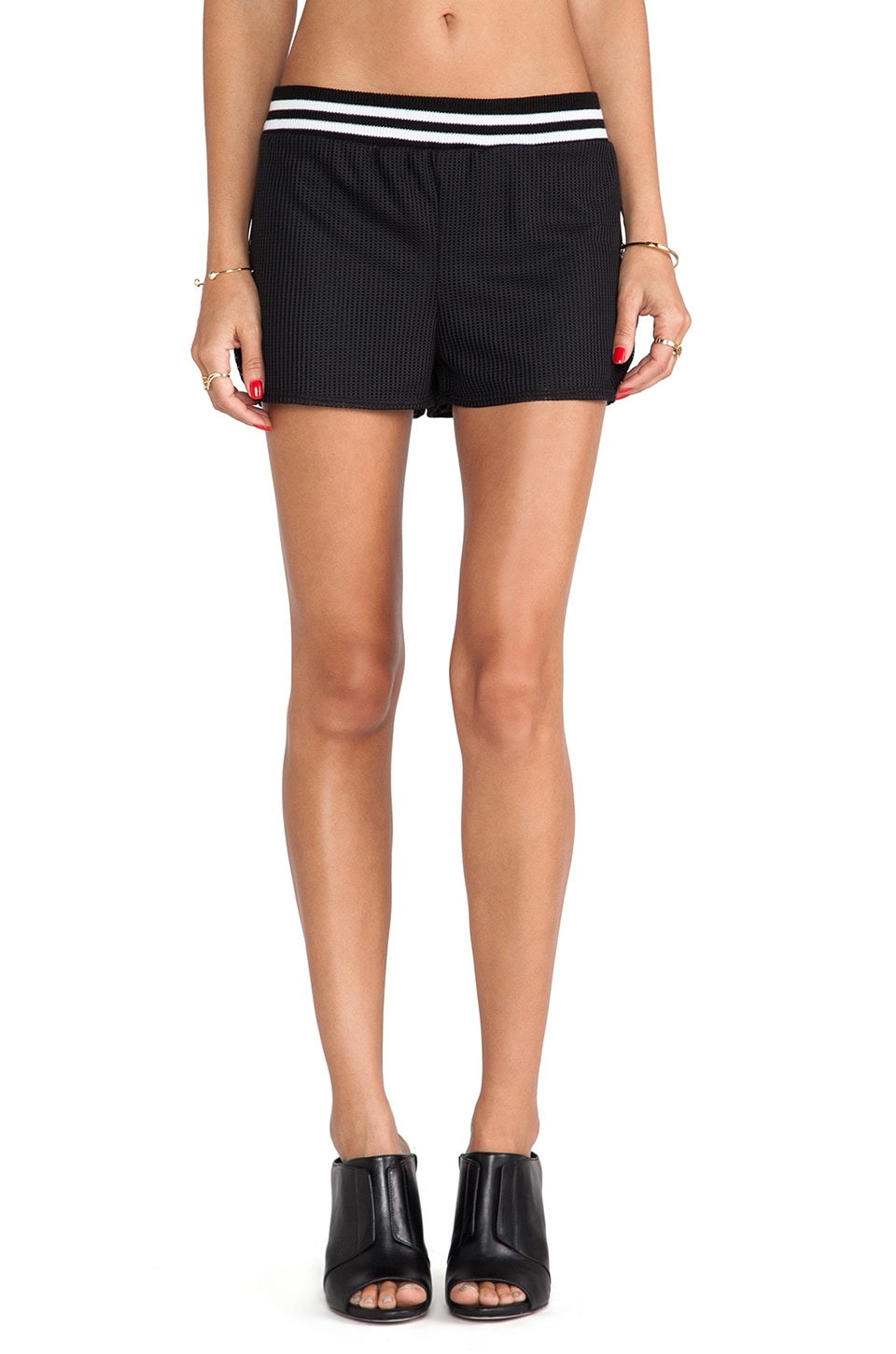 De Lacy DeLacy Blake Shorts in Black