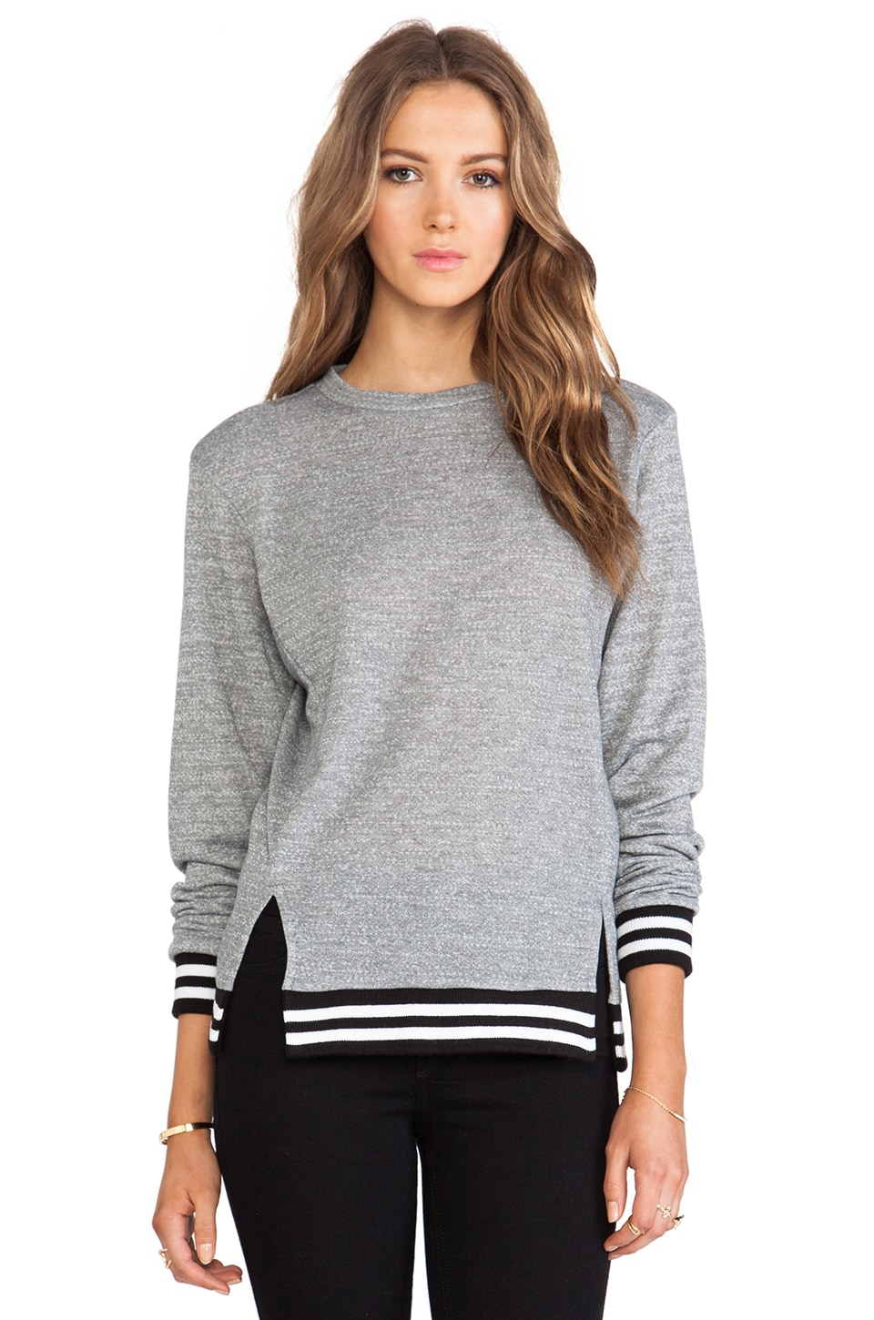 De Lacy DeLacy Shane Sweatshirt in Grey