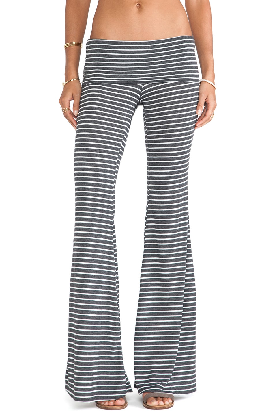 De Lacy DeLacy Austri Pant in Grey & White