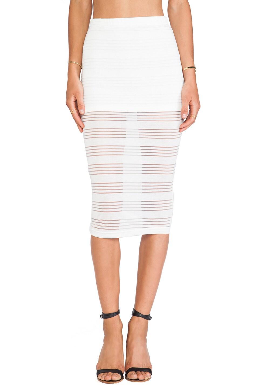 De Lacy DeLacy Dakota Skirt in White