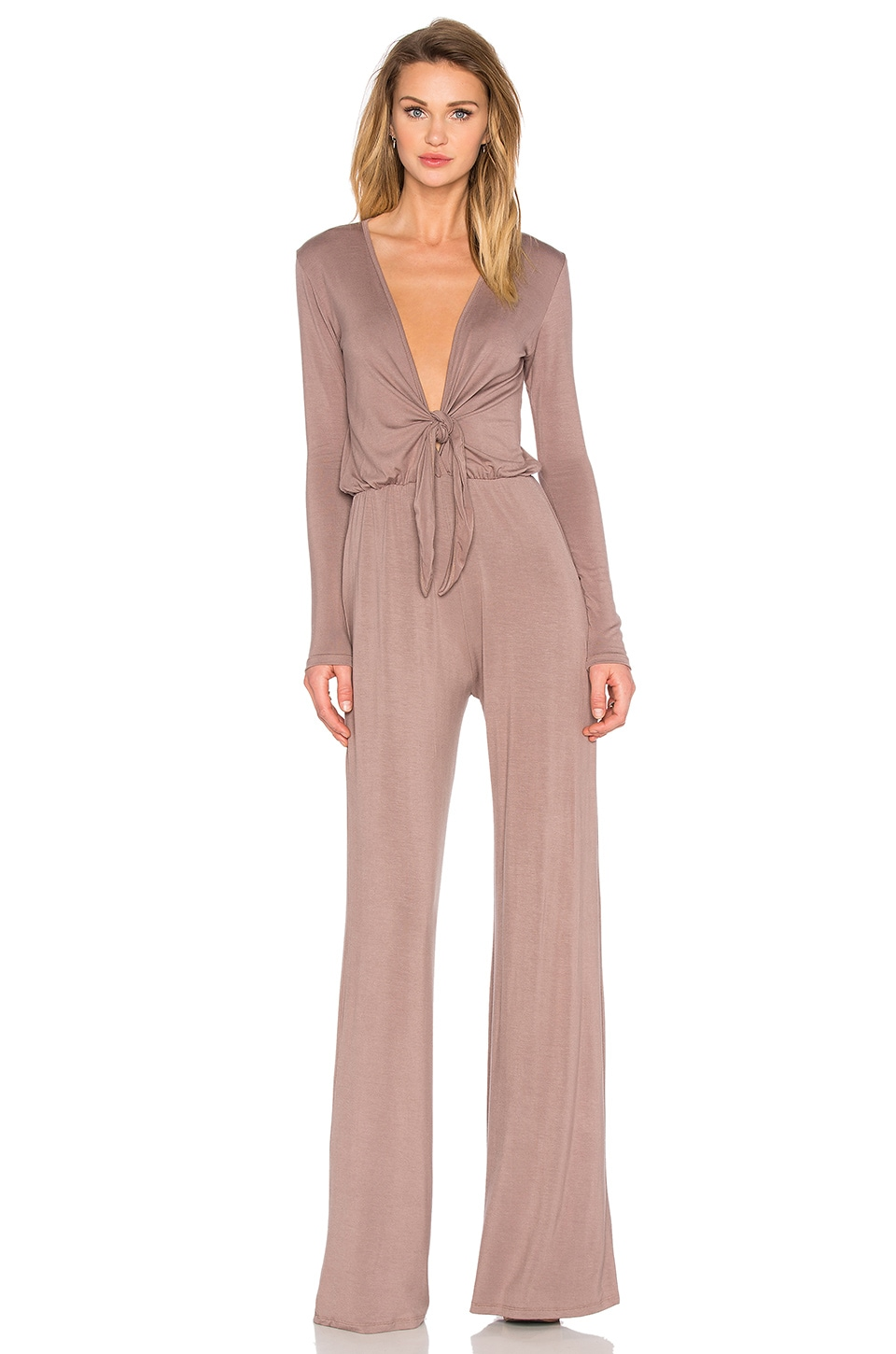 De Lacy Mason Jumpsuit in Taupe