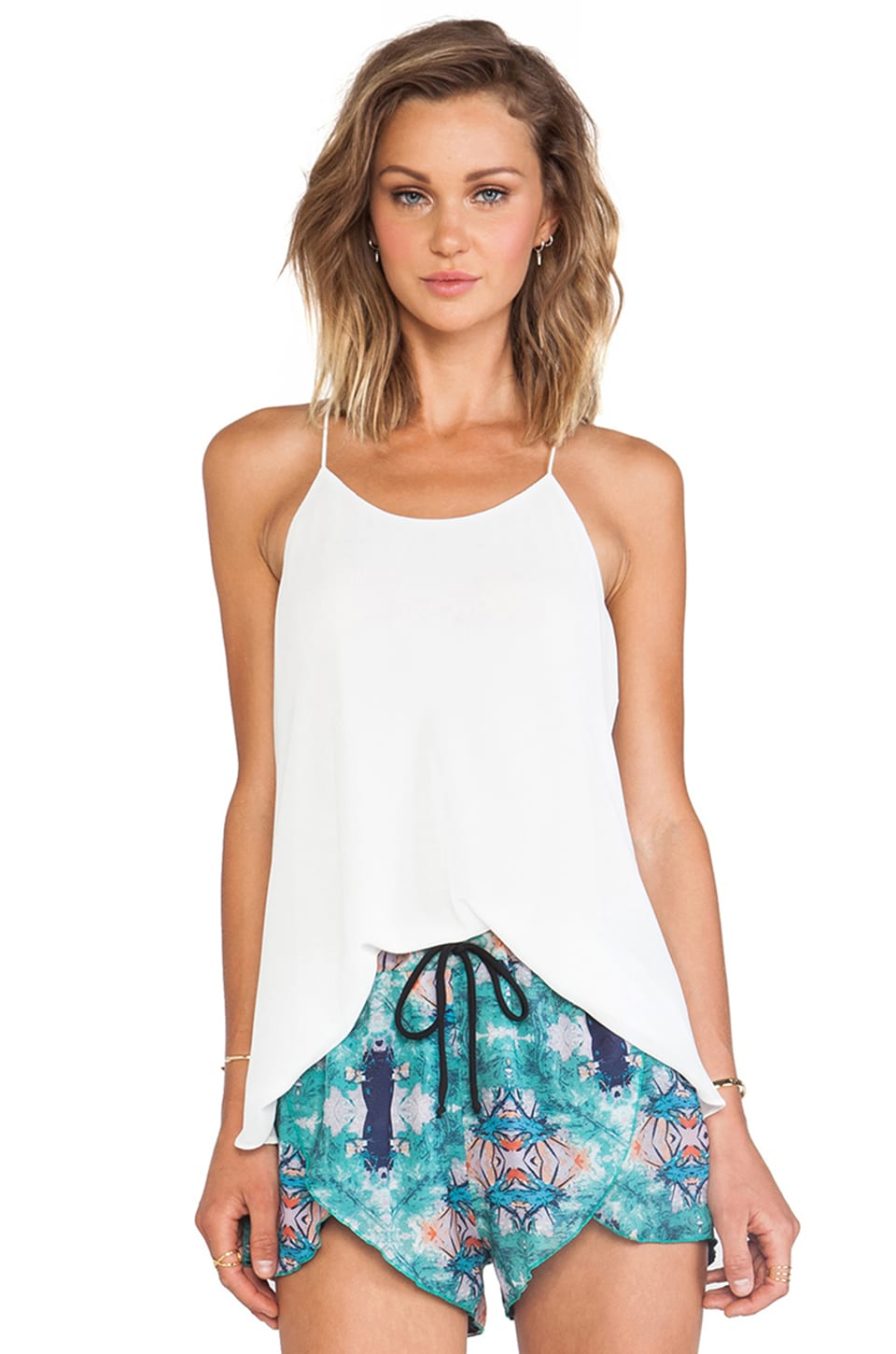 De Lacy DeLacy Hollywood Tank in White