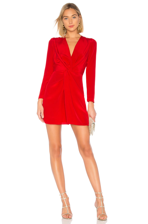 DELFI Frankie Dress in Red