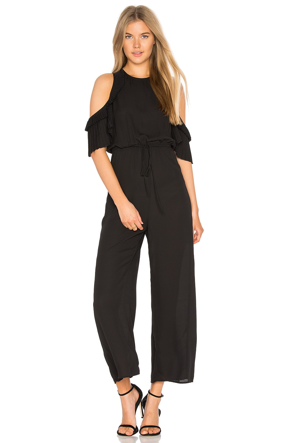 DELFI Evie Jumpsuit in Black