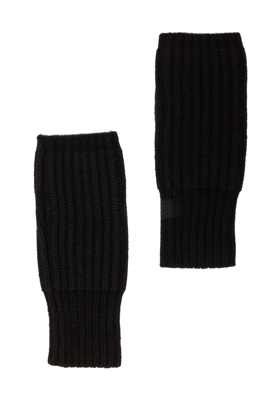 DemyLee Cashmere Wrist Warmer in Medium Black