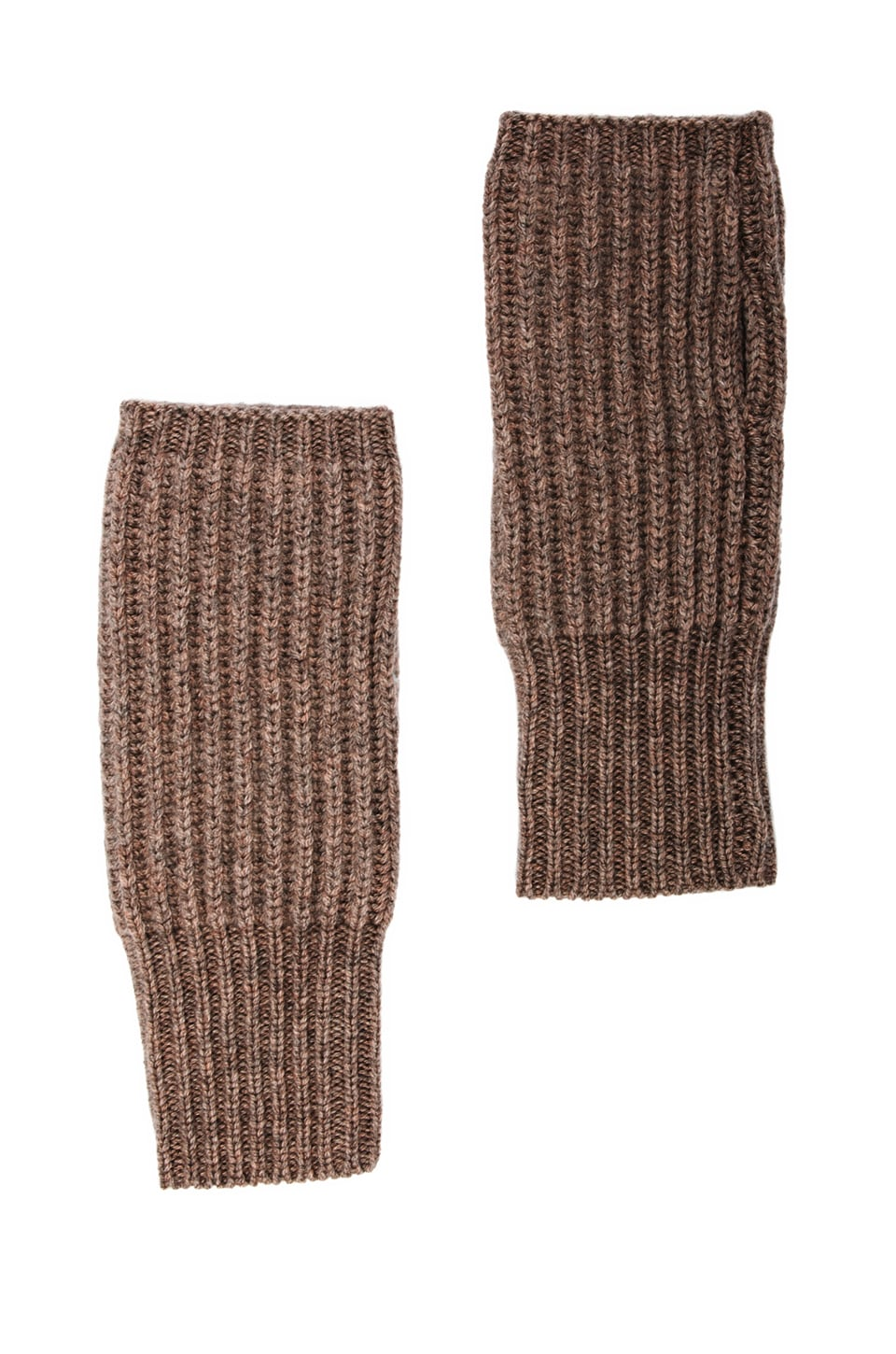 DemyLee Cashmere Wrist Warmer in Feather Heather
