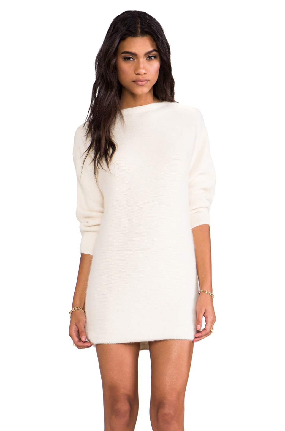 DemyLee Colette Mini Dress in Ivory